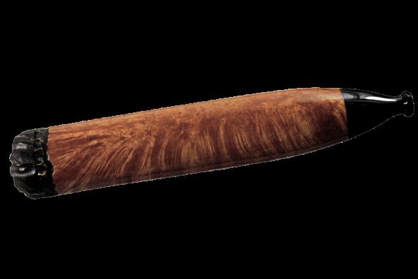 Chris Morgen Briar Cigar Pfeife - Made in USA - glatt braun poliert