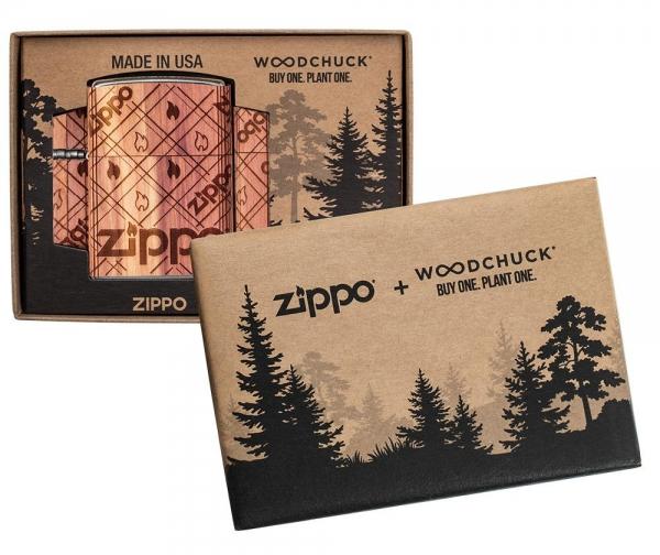 ZIPPO Woodchuck Flamme Neuheit 2021 Benzin Feuerzeug - 60005672