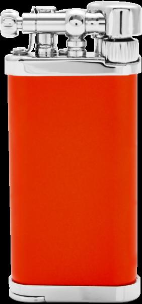 IM Corona Chrome Mantel orange Feuerzeug der Old Boy Klassiker Made in Japan Pfeife
