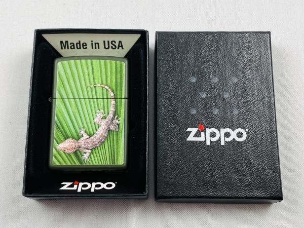ZIPPO Feuerzeug Gecko Lizard Eidechse 2021 3D Texture - 60005738