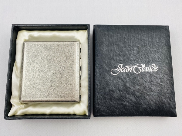 Jean Claude Premium Antik Silber Zigaretten Etui 20er mit Bügel