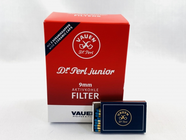 VAUEN Dr. Perl Filter 1x 180 Stück 9mm Aktivkohle