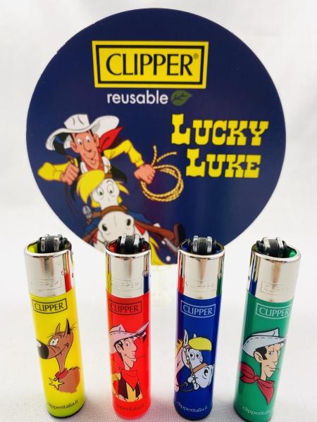 Clipper Lucky Luke Edition Feuerzeug 4er Set No.2